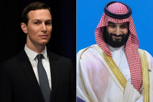 Kushner advised Saudi Prince