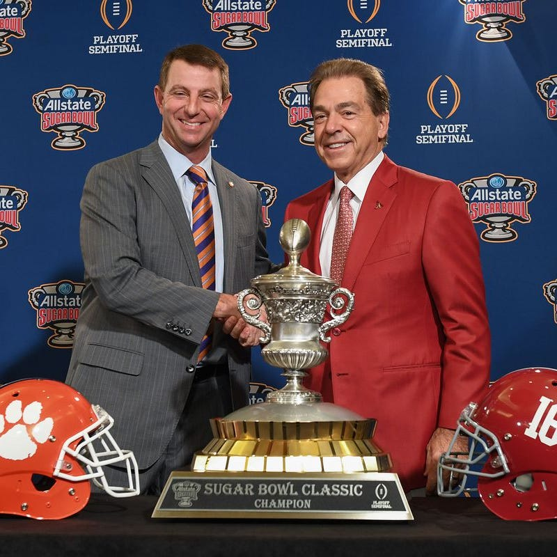 Is Alabama coach Nick Saban buttering Clemson up for possible Crimson Tide vs. Tigers, IV?