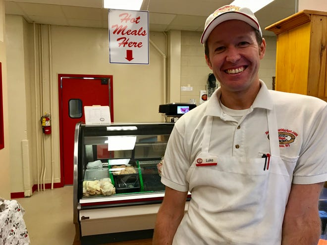 Luke Jacobs, owner of Jacobs Meat Market in Appleton.