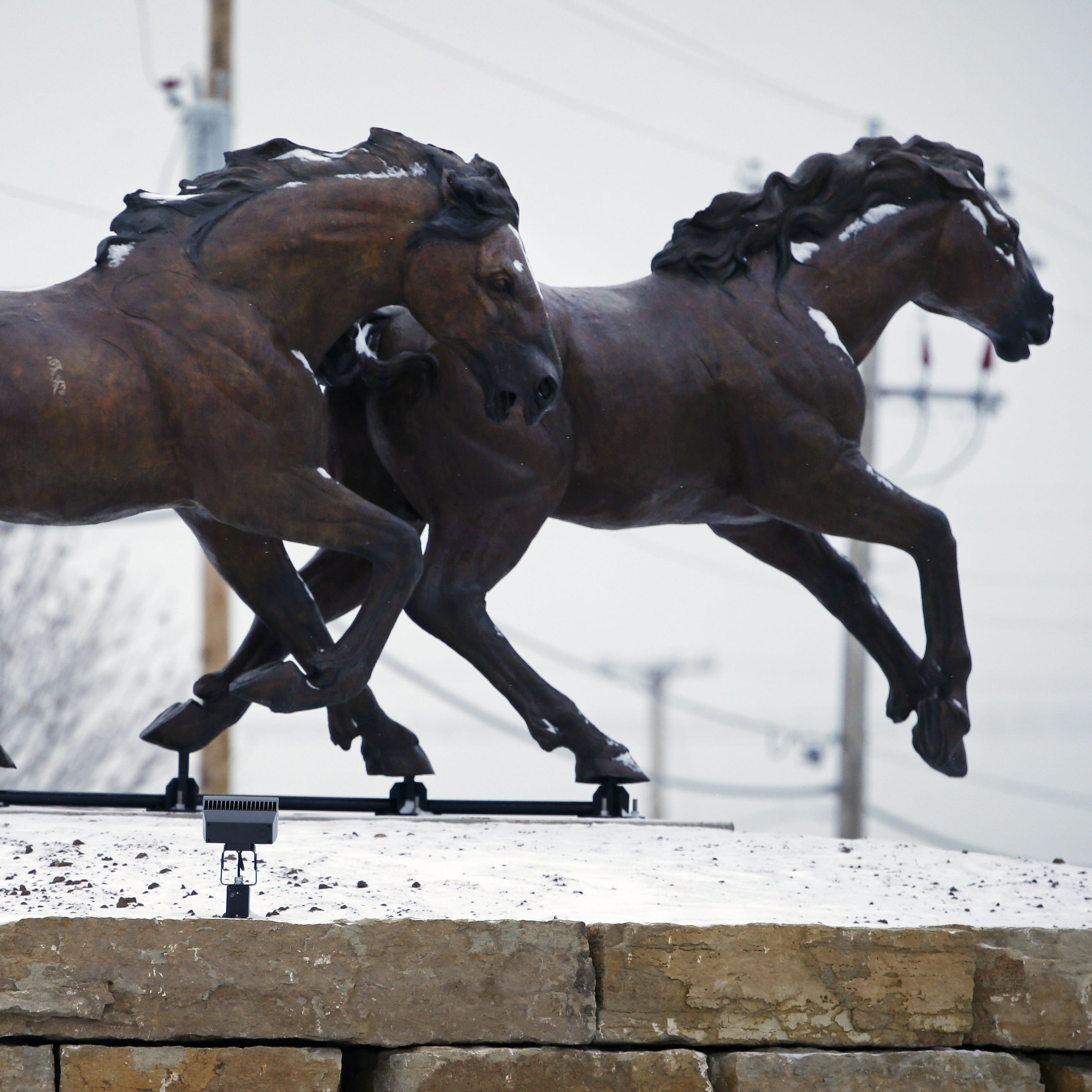 The Buzz: Grand Chute's horse sculptures explained