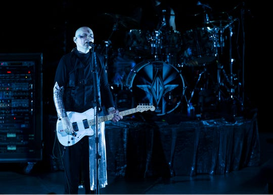 The Smashing Pumpkins perform their 30th anniversary concert at PNC Arts Center with a number of special guests for the occasion. Holmdel, NJThursday, August 2, 2018@dhoodhoodnfs