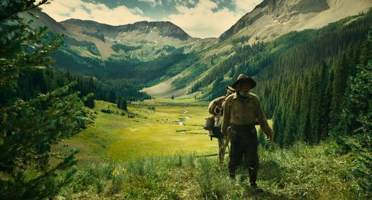 "Tom Waits as Prospector in ""The Ballad of Buster Scruggs,"" a film by Joel and Ethan Coen."