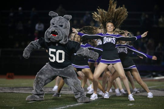 Scenes during halftime at the Freehold Boro vs. Rumson-Fair Haven homecoming football game at Rumson-Fair Haven High School in Rumson, NJ. September 28, 2018.