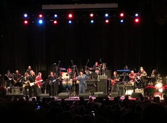 'A Very Asbury Holiday Show' filled the sold-out Paramount Theatre with rock 'n' roll and R&B classics along with holiday chestnuts on Sunday, Dec. 9