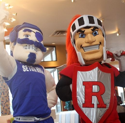Rutgers vs. Seton Hall basketball: A history of high jinks