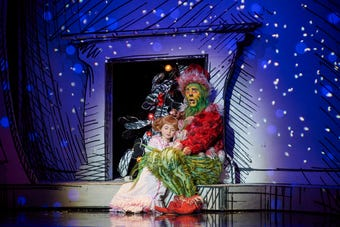 How The Grinch Stole Christmas! musical, starring two-time Tony nominee Gavin Lee (Spongebob SquarePants) hits Madison Square Garden Dec. 13 to 30.