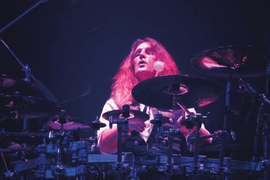 Trans-Siberian Orchestra drummer Jeff Plate, pictured in 2017.