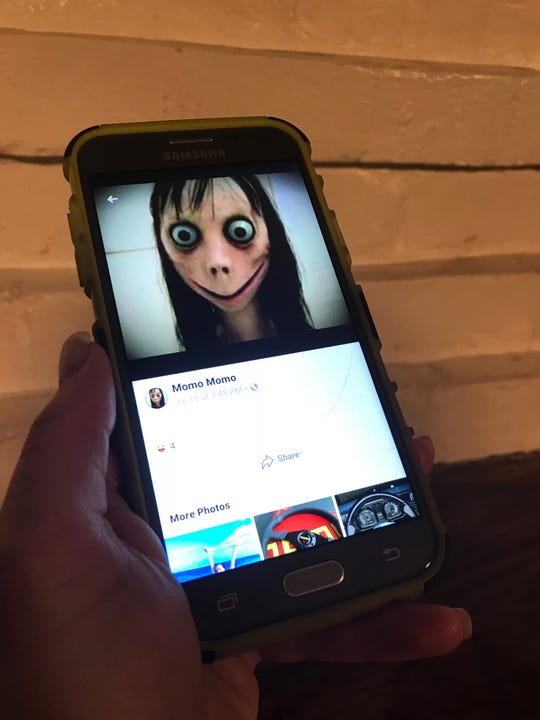 946223363ce3 Momo Challenge  How to protect kids from dangerous internet content