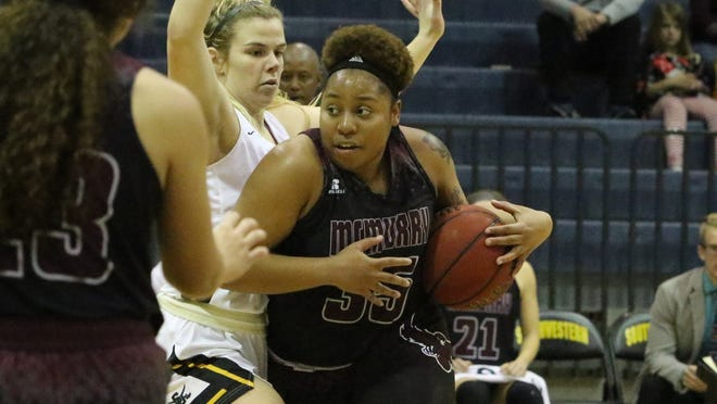 Brittany Rodgers scored 10 points off the bench Saturday as she helped McMurry earn its first road win of the season at Southwestern.