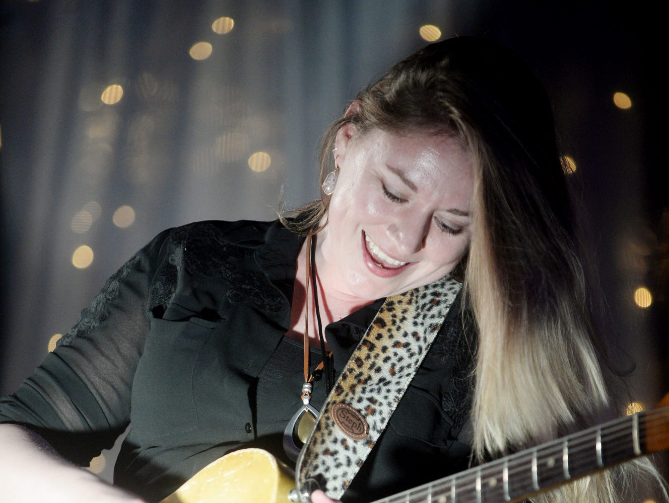 Joanne Shaw Taylor performs during the second night of Christmas Jam Dec. 8, 2018.