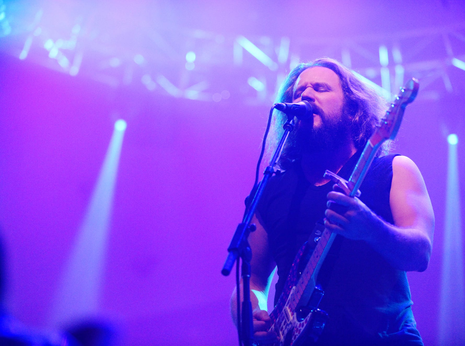 Jim James performs during the second night of Christmas Jam Dec. 8, 2018.