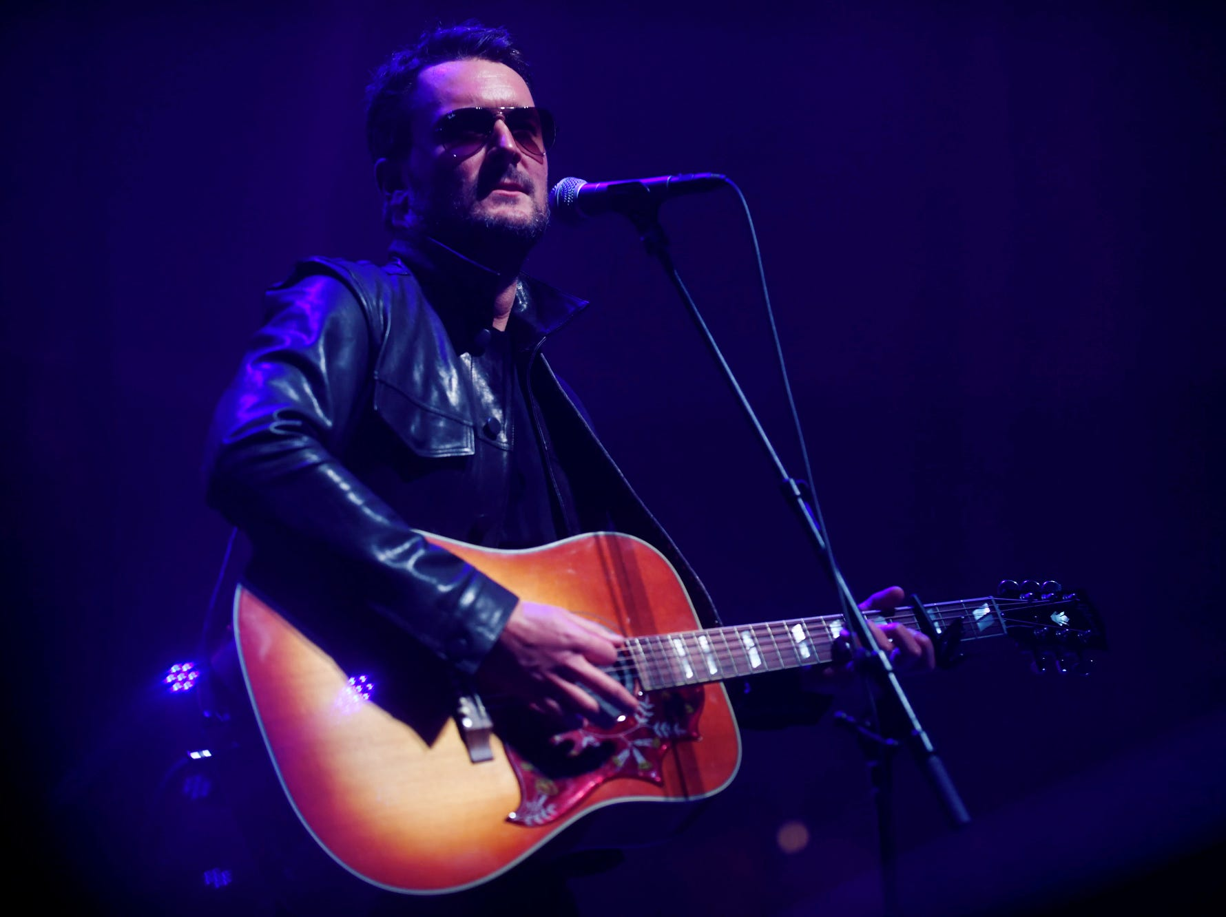 Eric Church performs during the second night of Christmas Jam Dec. 8, 2018.