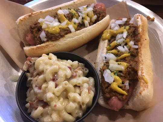 The Copper Coneys brings a little bit of the state of Michigan to the Copper Athletic Club. Make sure to get it with a side of Housemade Mac and Cheese.
