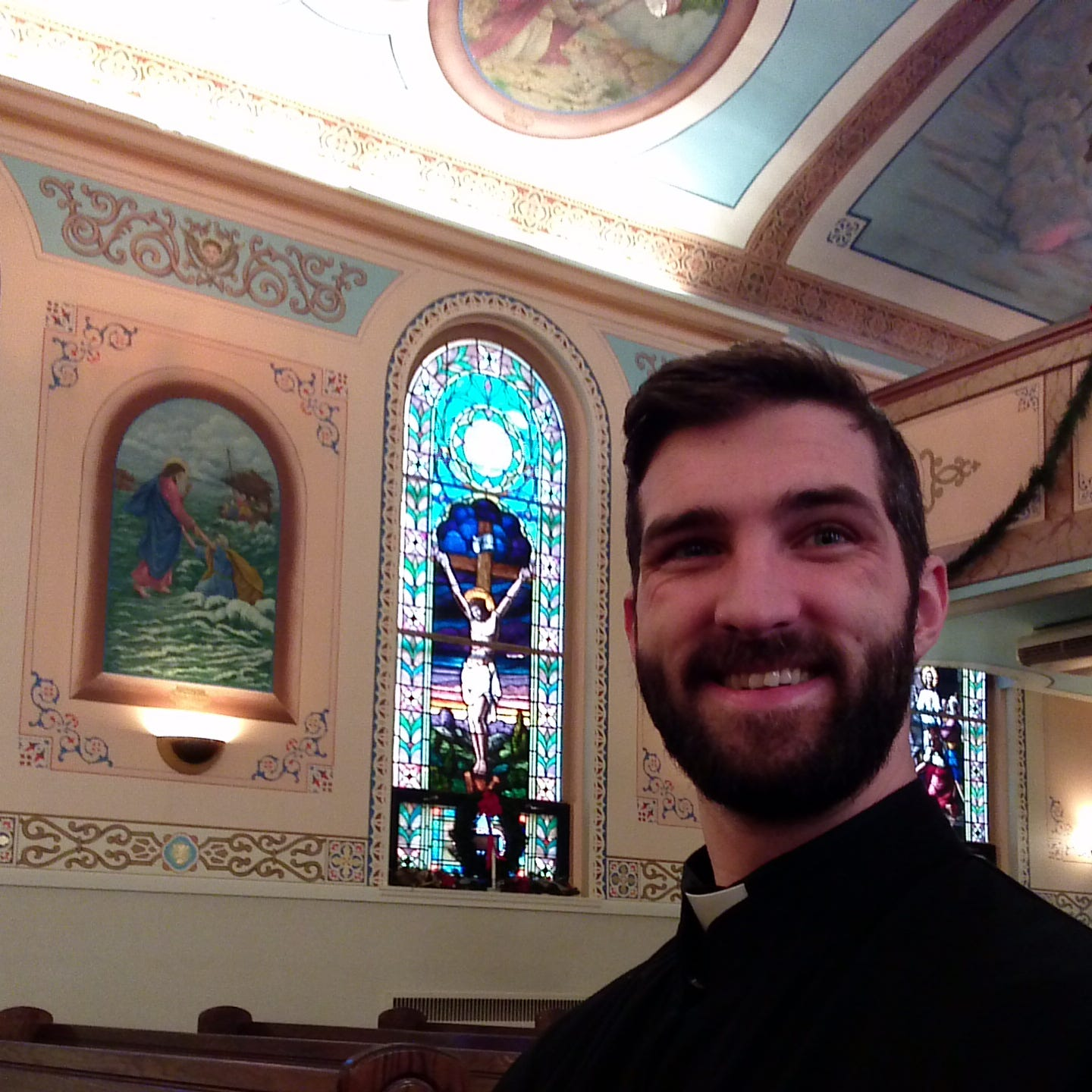 What a year for Endicott priest: New vocation, new wife, new challenges