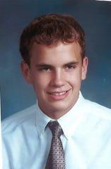 Adam Walsh when he was 17.