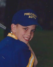 Adam Walsh when he played in Little League.