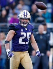 Washington linebacker Ben Burr-Kirven may be too small for the NFL. Or he could be among the players who hang around with Seattle, according to Jim Moore's ranking of the Seahawks draft class.