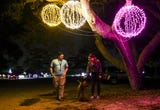 More than 3 million lights await guests at the Space Coast Lightfest in Melbourne's Wickham Park