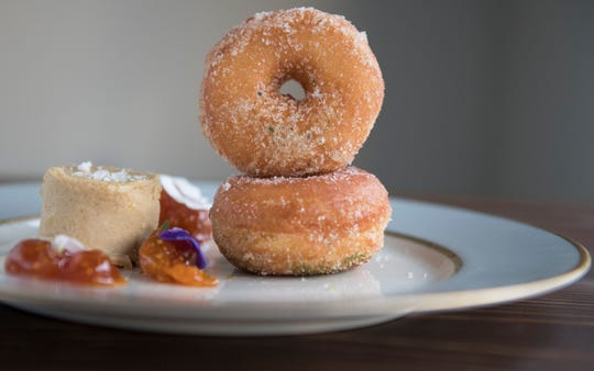 Donuts and foie gras at Porch & Proper in Collingswood.