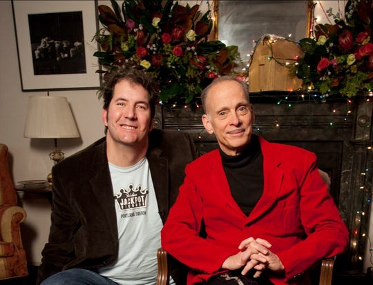 John Waters (right) is one of the stars of the new documentary Jingle Bell Rocks! showing Wednesday, Dec. 19 at Northside Yacht Club.