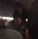 Amy Hammond said she took video of a woman having a medical episode on a United Airlines flight since the plane did not change course to land early.