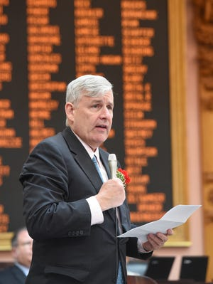 Ohio Rep. Tom Brinkman, R-Mount Lookout, has introduced House Bill 117, which revives the controversial school territory transfer law.