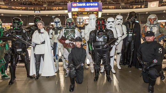 Cincinnati Cyclones host Star Wars weekend at Heritage Bank Arena this Friday and Saturday.