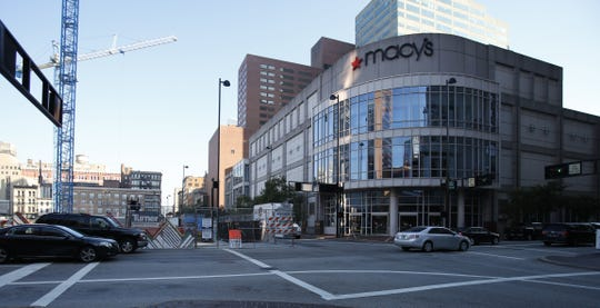 Macy's, located in the heart of Downtown, closed earlier this year.