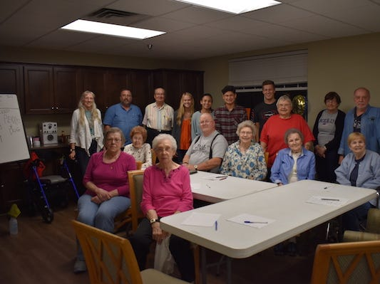 APSU and MCHS Spanish students team up to teach classes to senior citizens