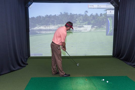 'Simulator Season' at Callaway Golf Learning Center PHOTO CAPTION