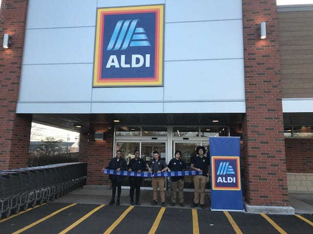 ALDI celebrates the grand reopening of its remodeled New Brunswick store. This reopening marks the completion of ALDI remodels in New Jersey.