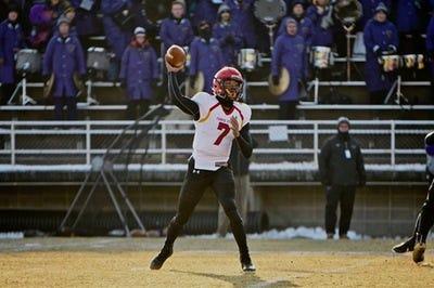 Ferris State quarterback Jayru Campbell.