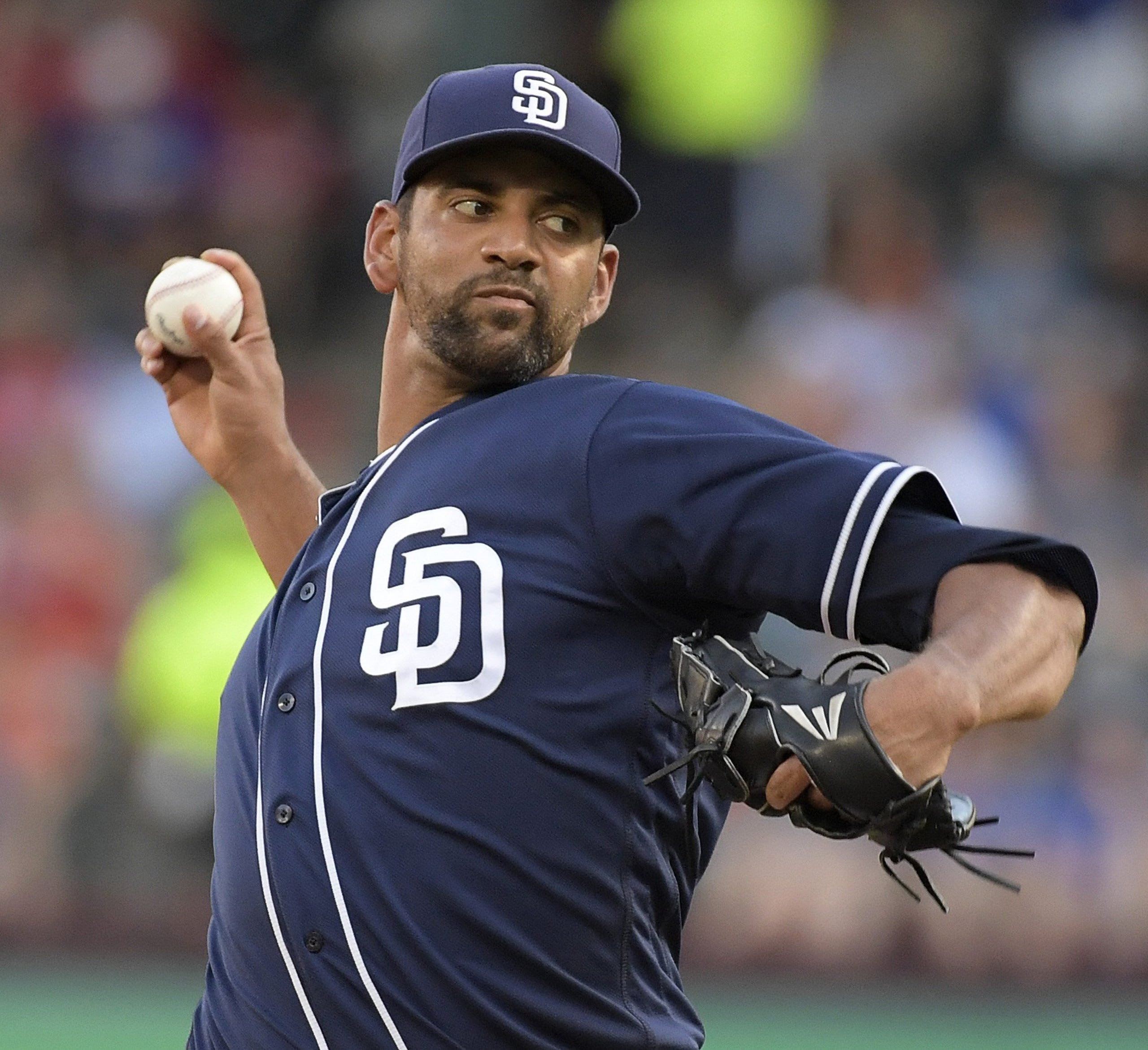 Tyson Ross went 8-9 with a 4.15 ERA in 31 games (23 starts) between San Diego and St. Louis last season.