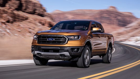 The 2019 Ford Ranger Is Designed For Today S Midsize Truck Er Who Blends City Living With Off Grid Adventure Pickup Owered By A