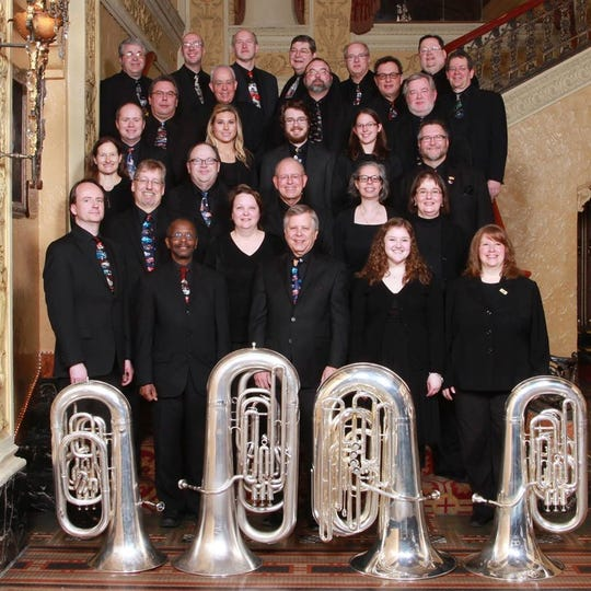 The Motor City Brass Band brings the sounds of Christmas to Dearborn on Sunday.