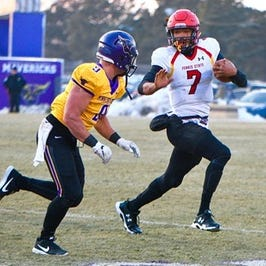 Ferris State football's Jayru Campbell named top Division II player
