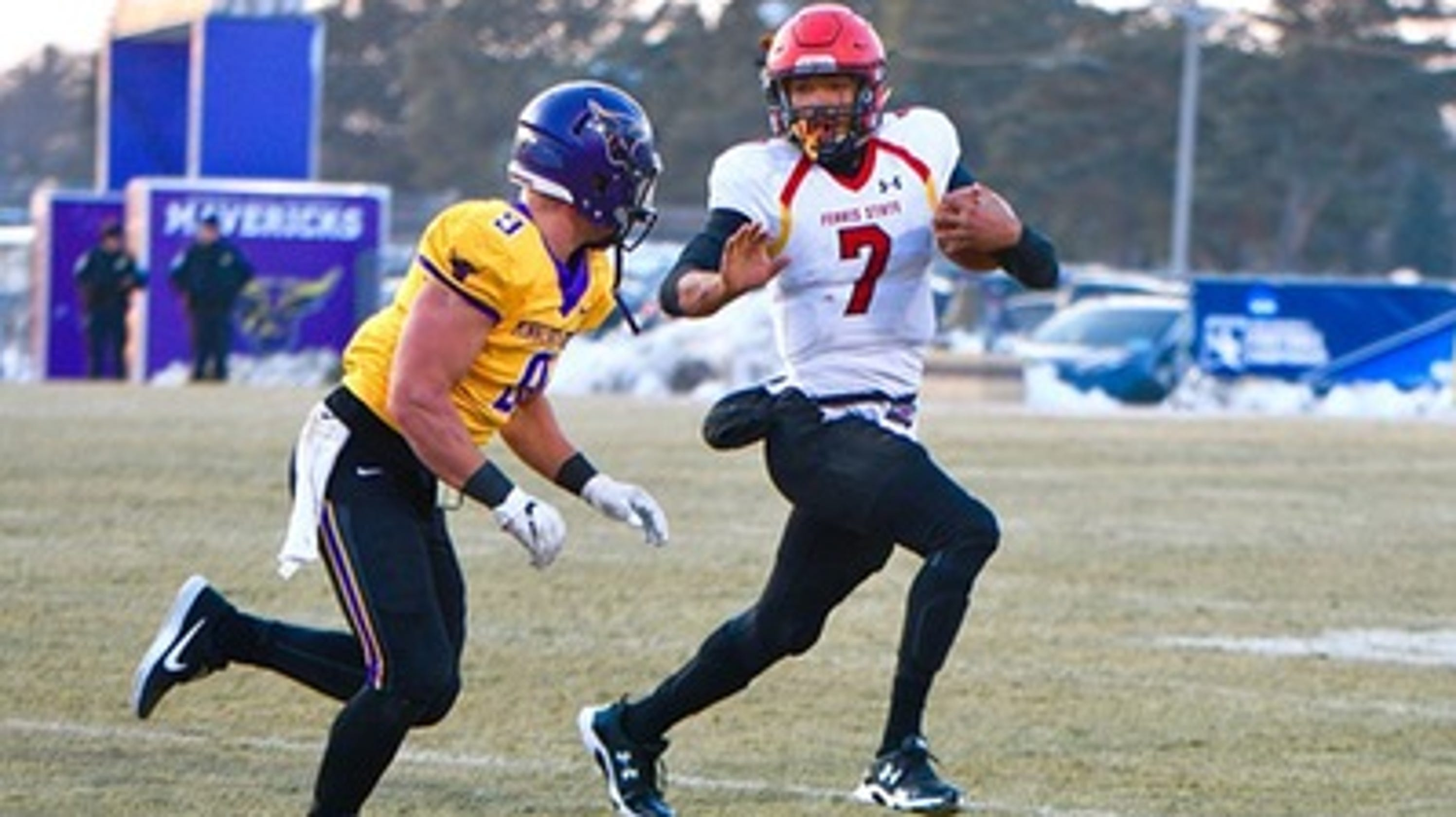 Ferris State Qb Jayru Campbell Named Top Division Ii Player