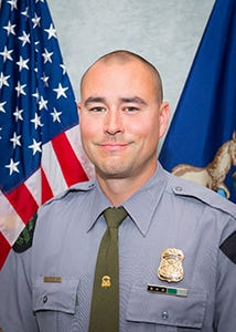 Michigan Department of Natural Resources Conservation Officer Mike Hearn found 2 girls from Cadillac who were reported missing with their alleged abductor in Kalkaska on Saturday.