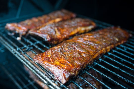 Ribs are smoked daily at Fitzgerald's Restaurant and Hotel