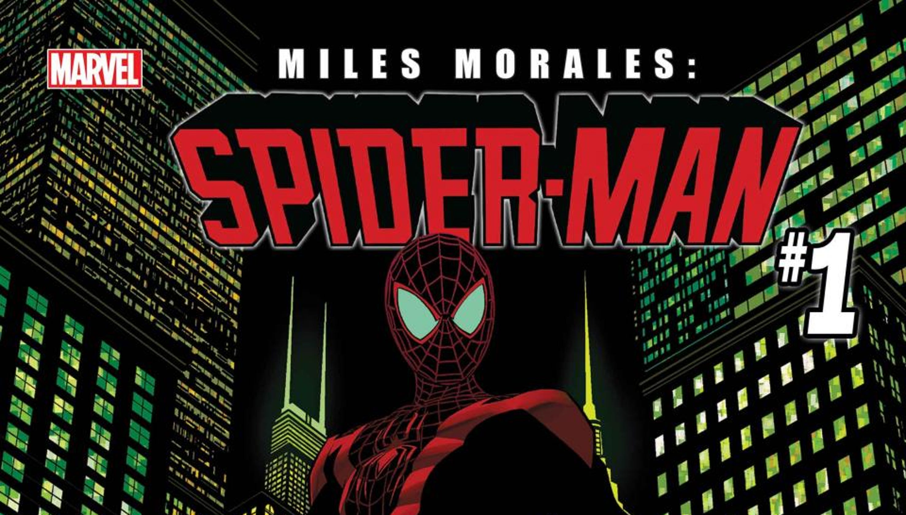 2bfa1ed0a8b768  Miles Morales  Spider-Man  1  comic  Author talks superhero