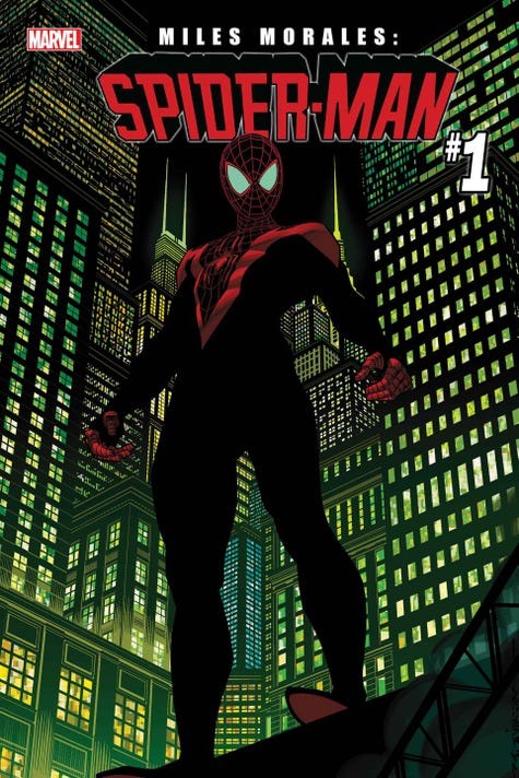 Miles Morales Spider Man Comic Book Marvel