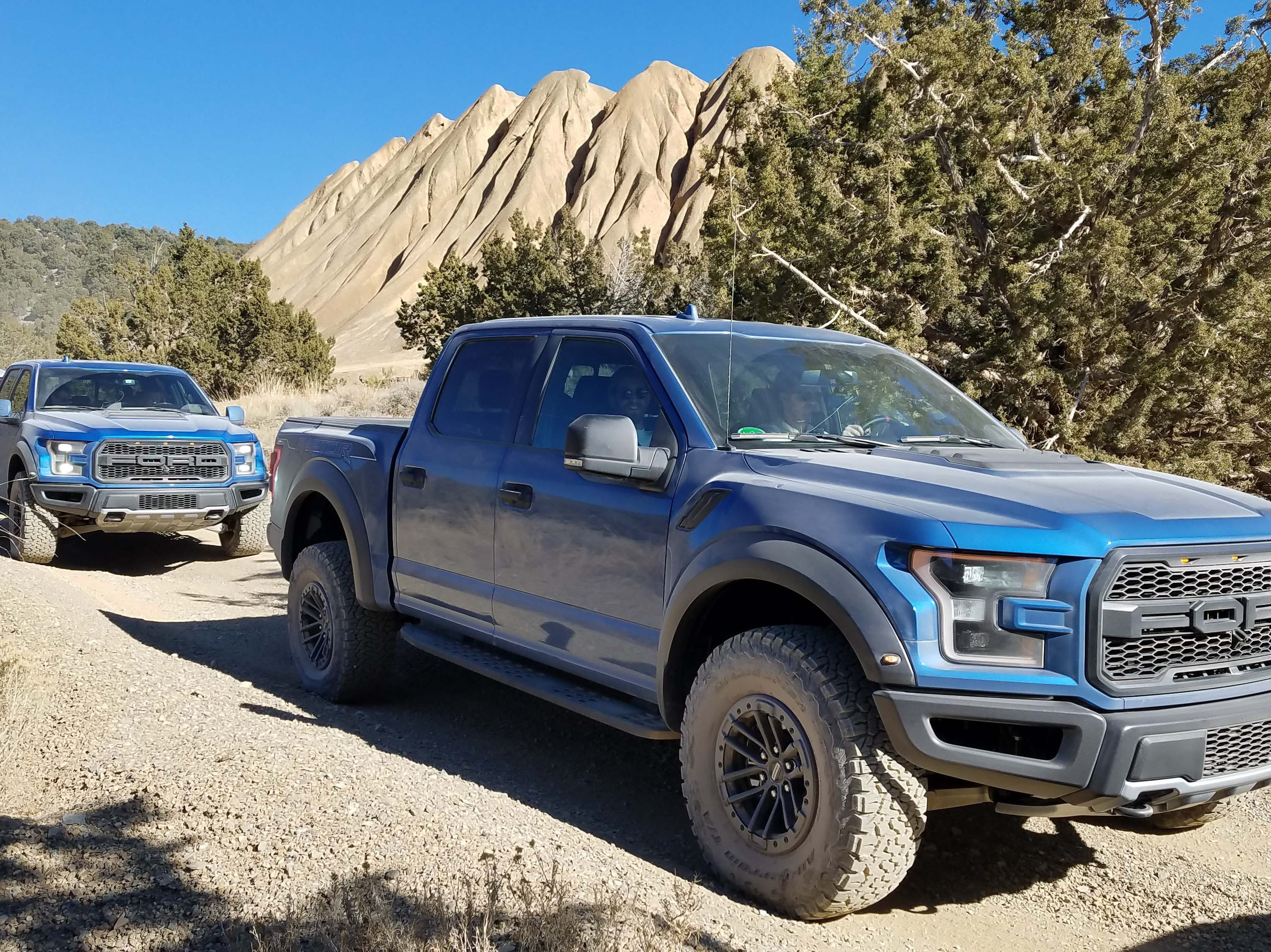 The 2019 Ford F-150 Raptor starts at about $54,000 and can be loaded with features to around $74,000.