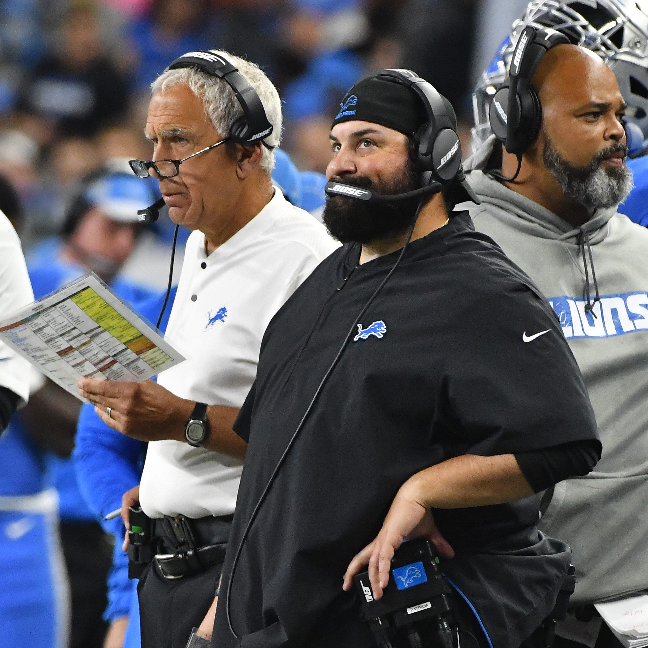 Lions' Patricia: Pasqualoni remains primary play-caller on defense