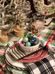 Sometimes, the only thing you need to do to change out the look of your table is to add new chargers or seasonal napkins. (Mary Carol Garrity)