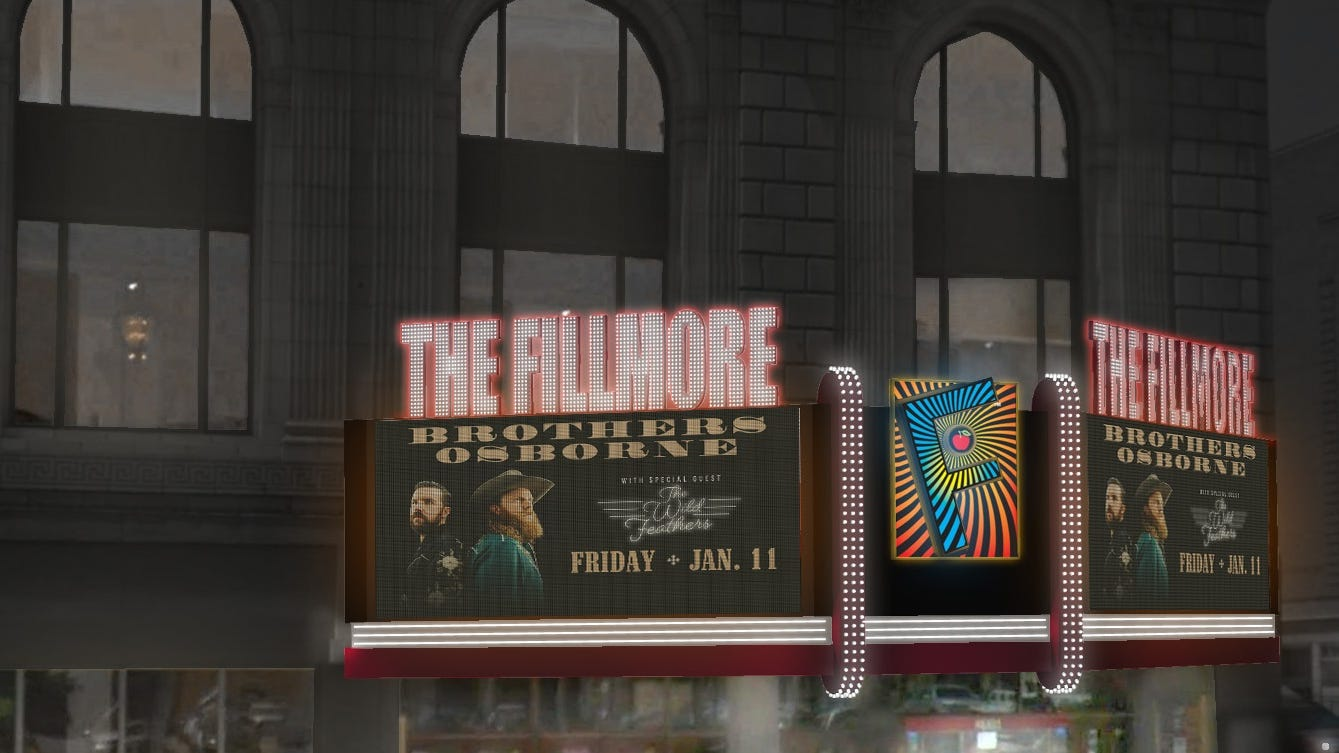 Fillmore marquee to be completed this month