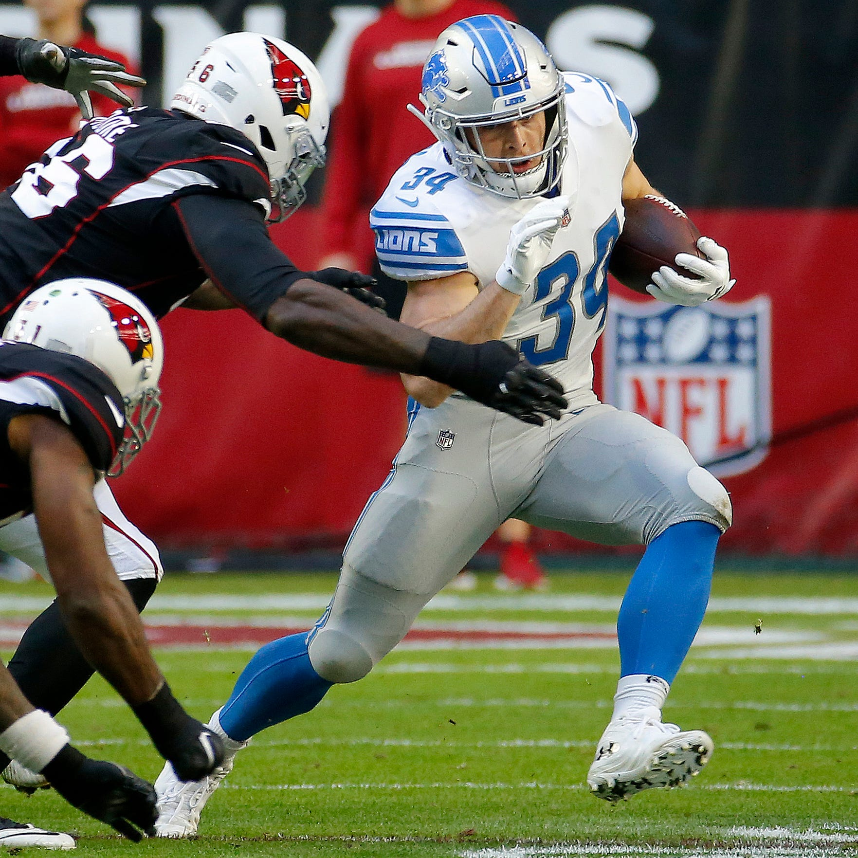 Zach Zenner filling void in Lions' injury-riddled backfield