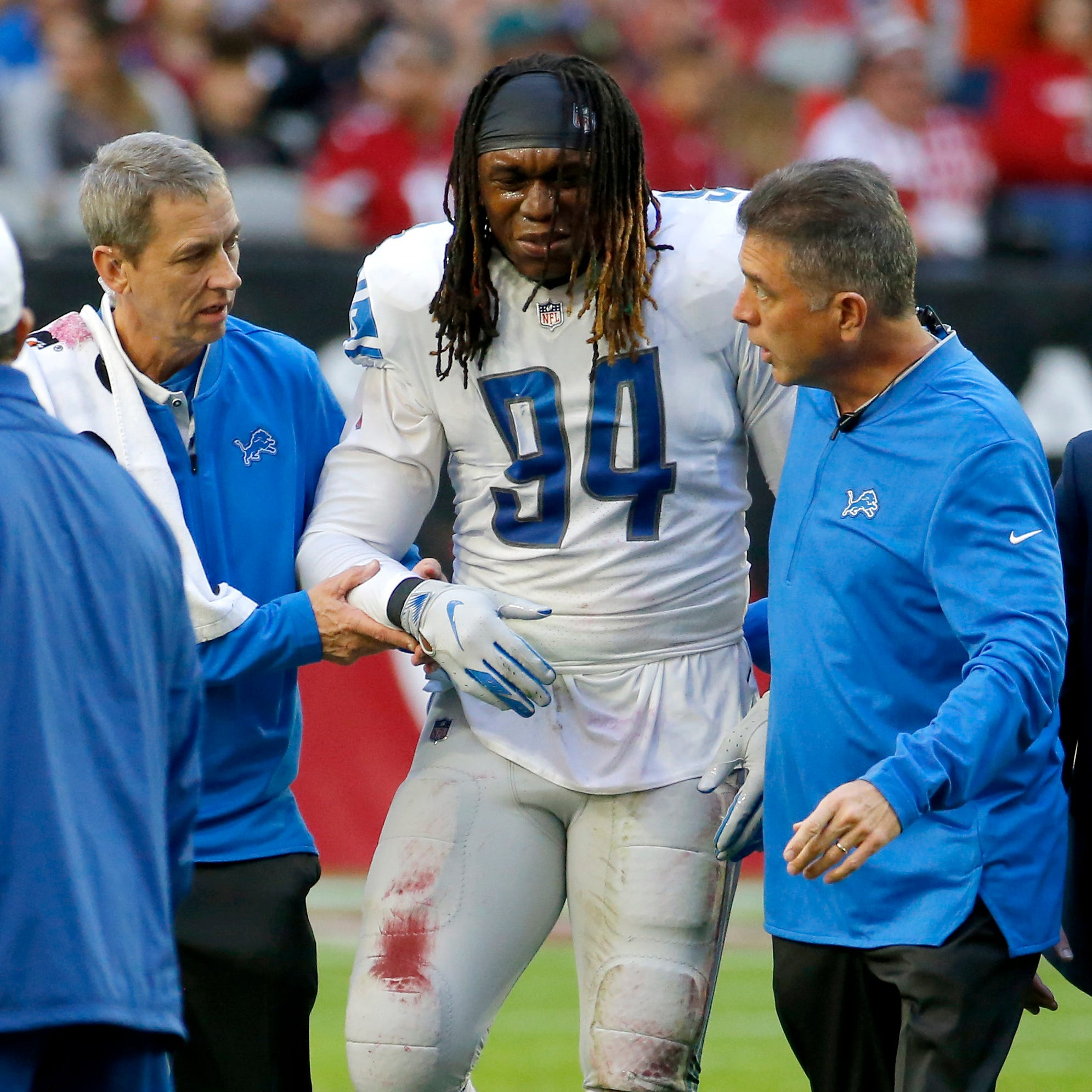 Four Downs: Injuries derail Ziggy Ansah's potential with Lions