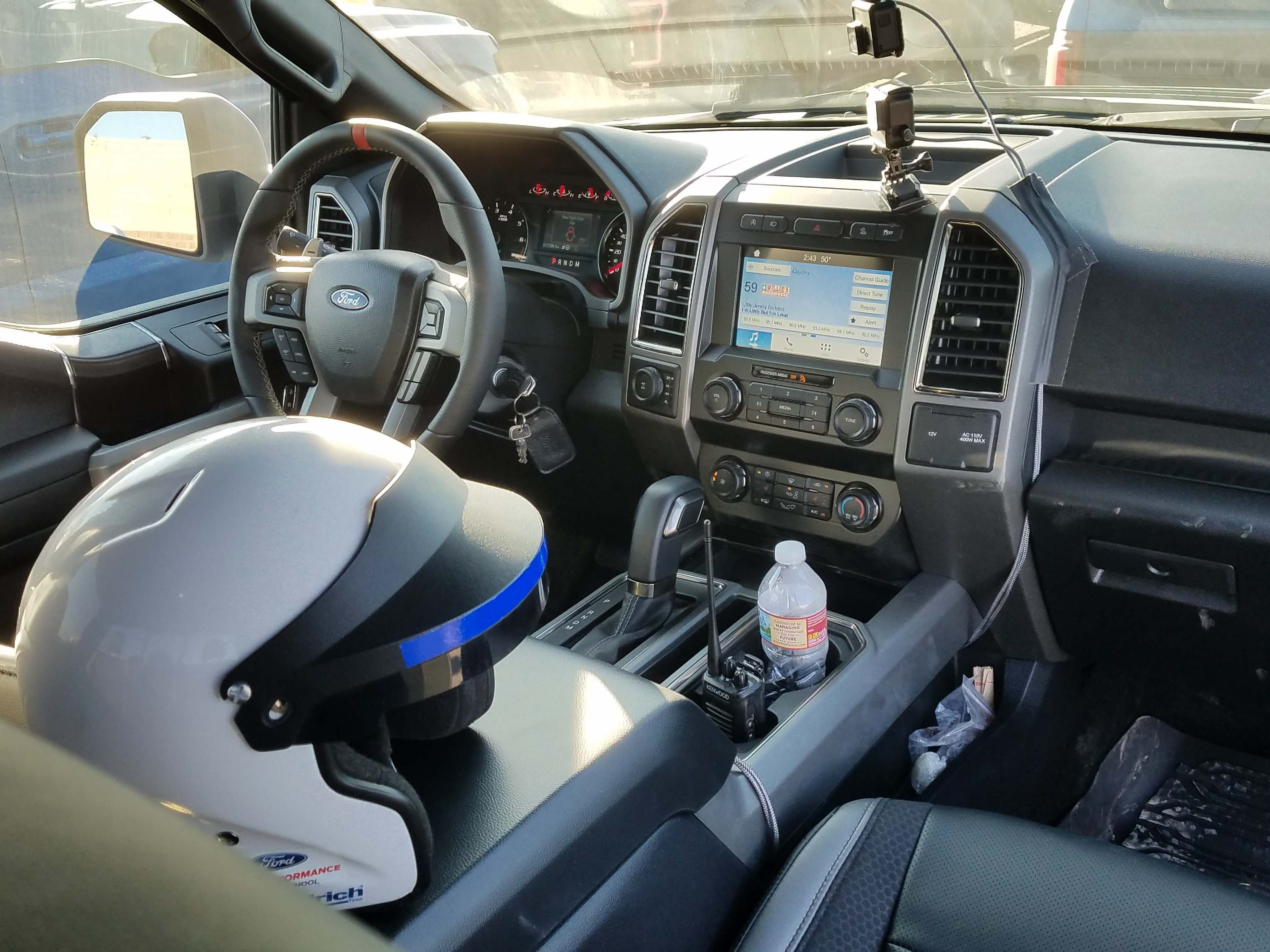 The interior is a livable place for drivers whether on the way to work, or driving hard on an off-road course.
