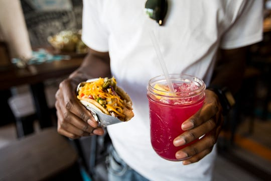 Besides a build-your-own taco option, Condado will serve 50 types of tequila and whiskey.
