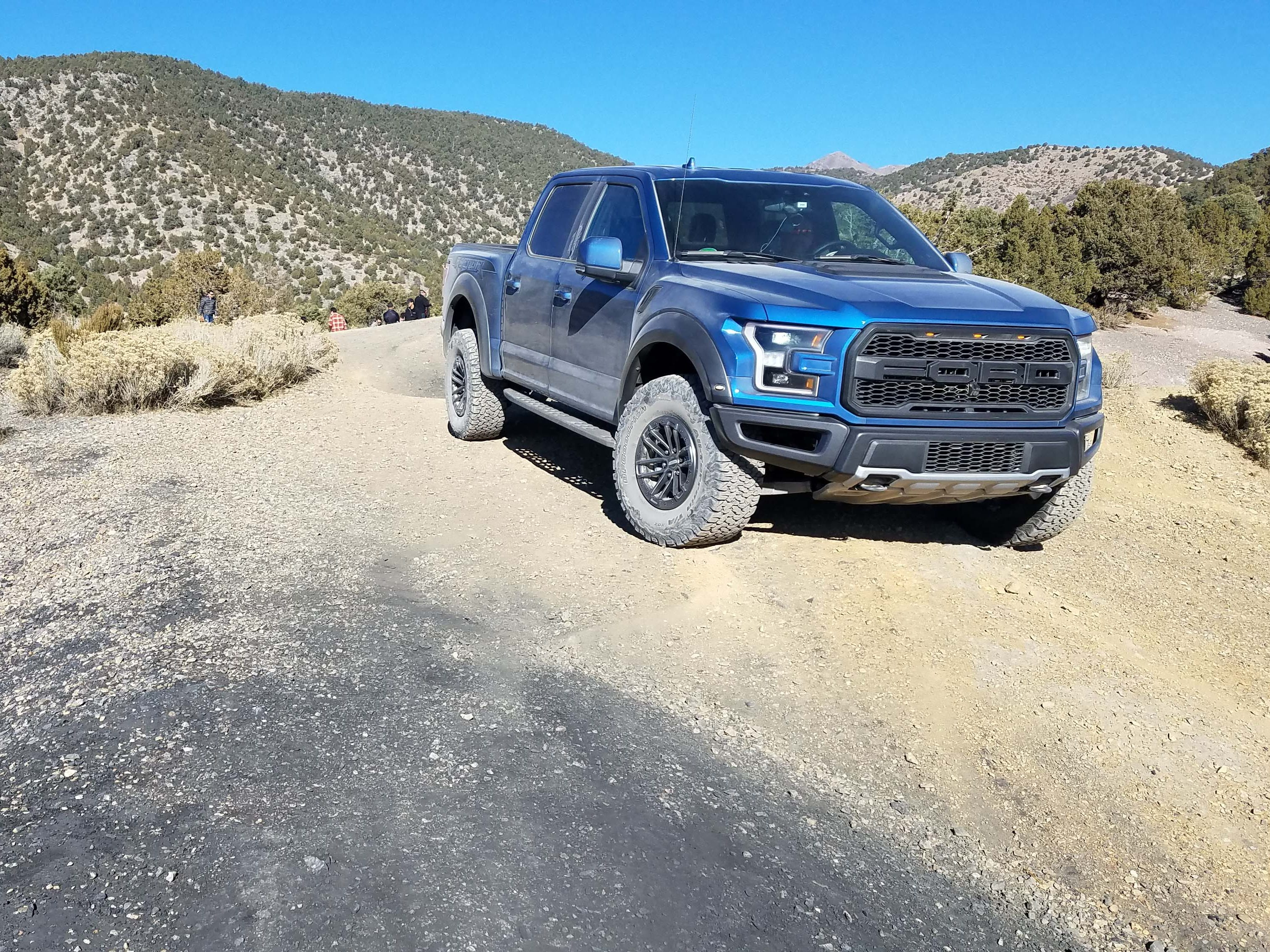 King of the hill. The 2019 Ford F-150 Raptor can go almost anywhere with its size, speed and rugged build.